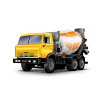 Website truck icons (bus, dumper, concrete mixer)
